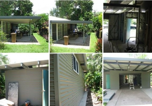 Carport and Garages